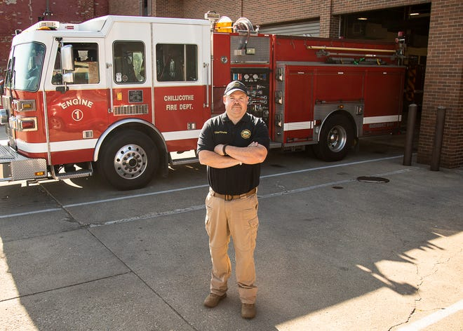 Chillicothe Fire Department chief Aaron Knotts thought about a career in firefighting as early as his junior year of high school.