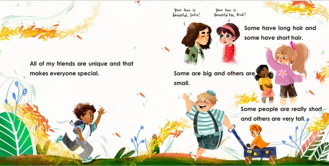 """Vincent Kelly's """"All People Are Beautiful"""" shows early readers that diversity is a celebration of all people, cultures and languages."""