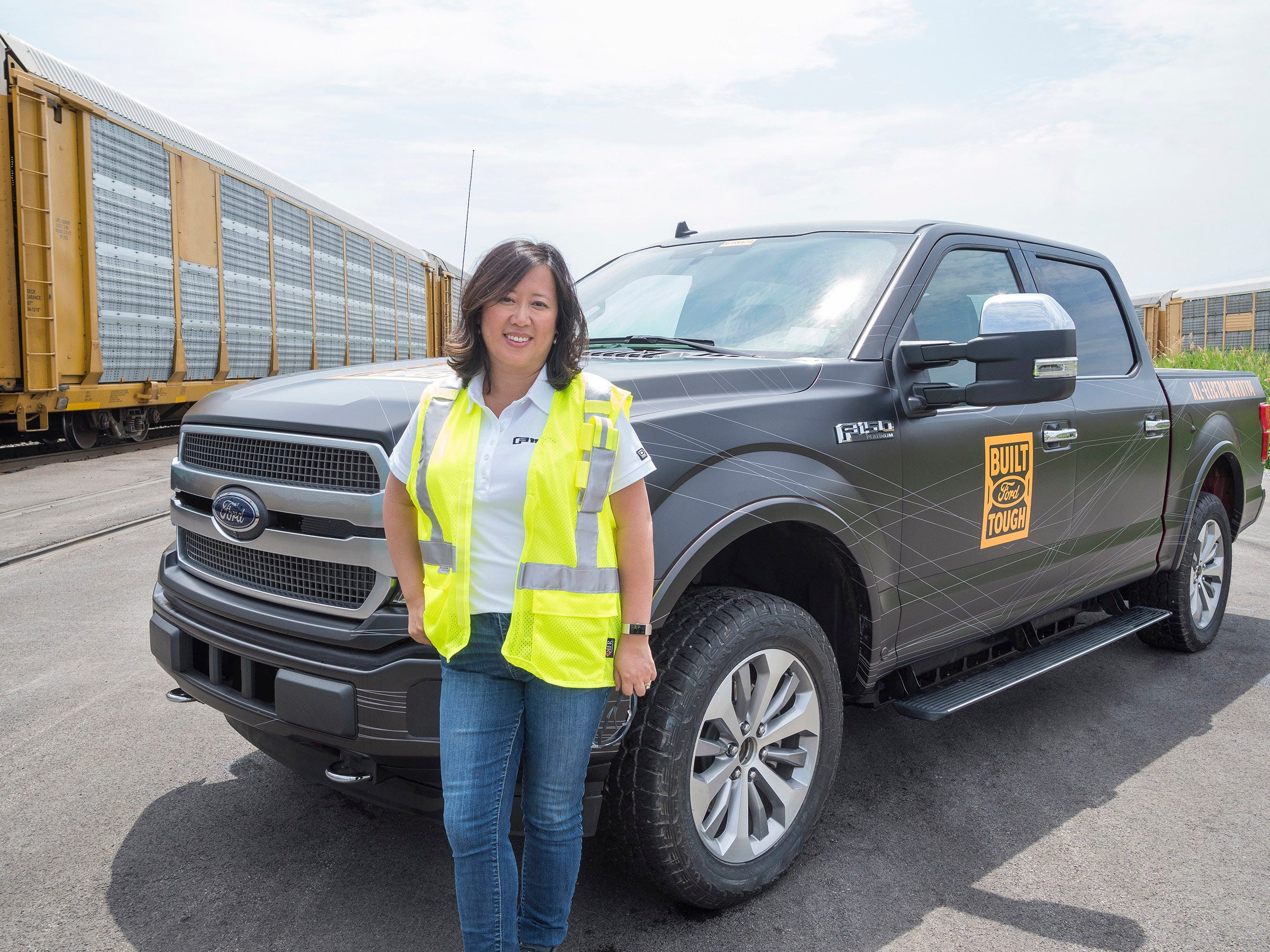 She is the chief engineer of all-electric Ford F-150, leading a revolution
