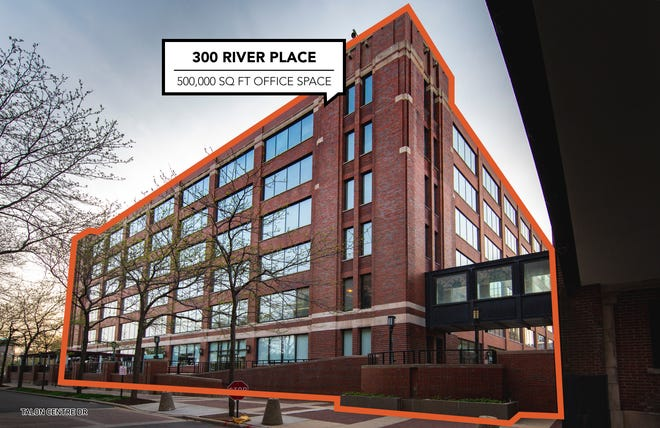 Bedrock's purchase includes 300 River Place, also known as Stroh River Place