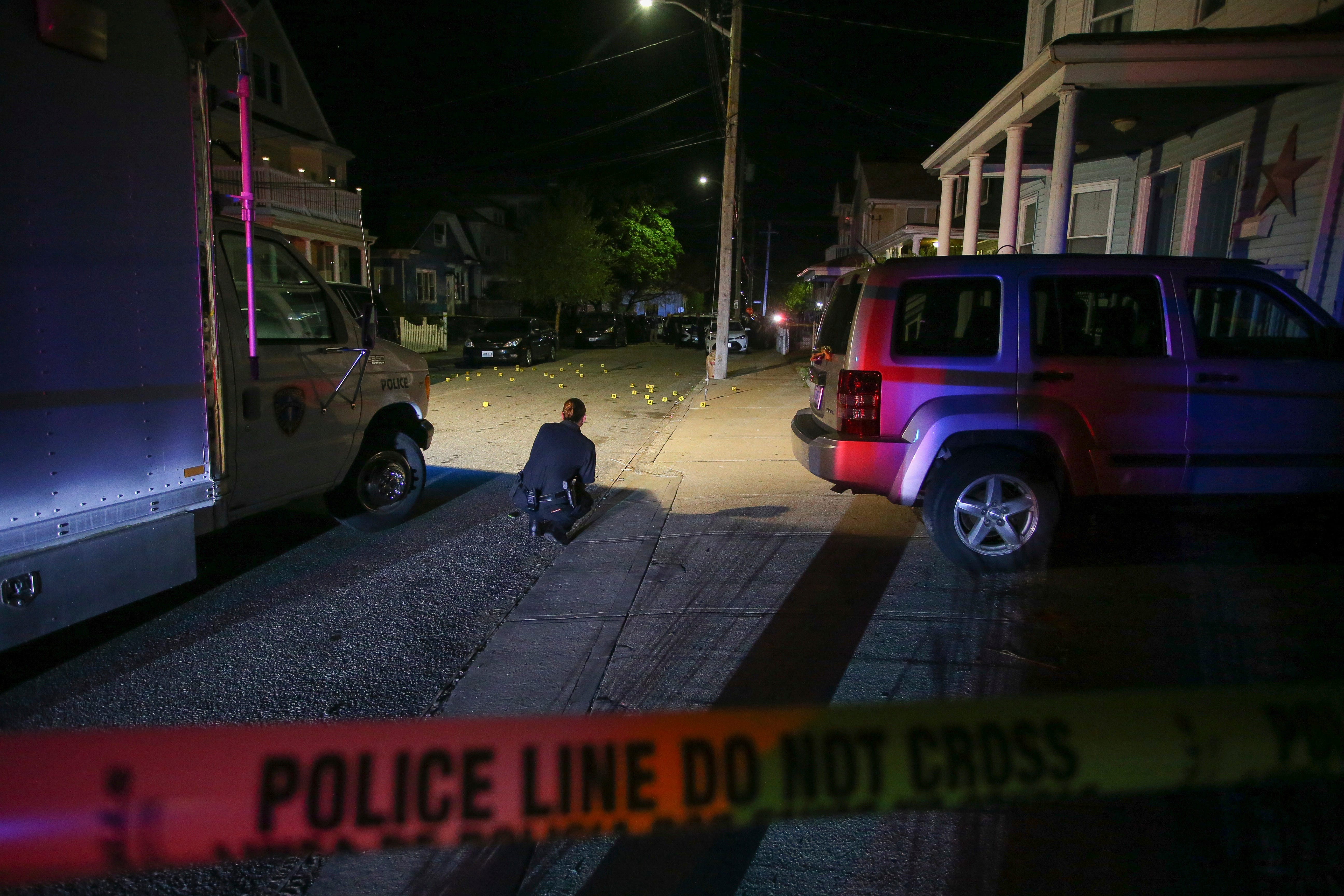 9 wounded in Providence, Rhode Island, shooting 2
