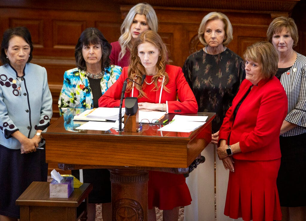Texas 'heartbeat bill' has novel approach to banning most abortions 2
