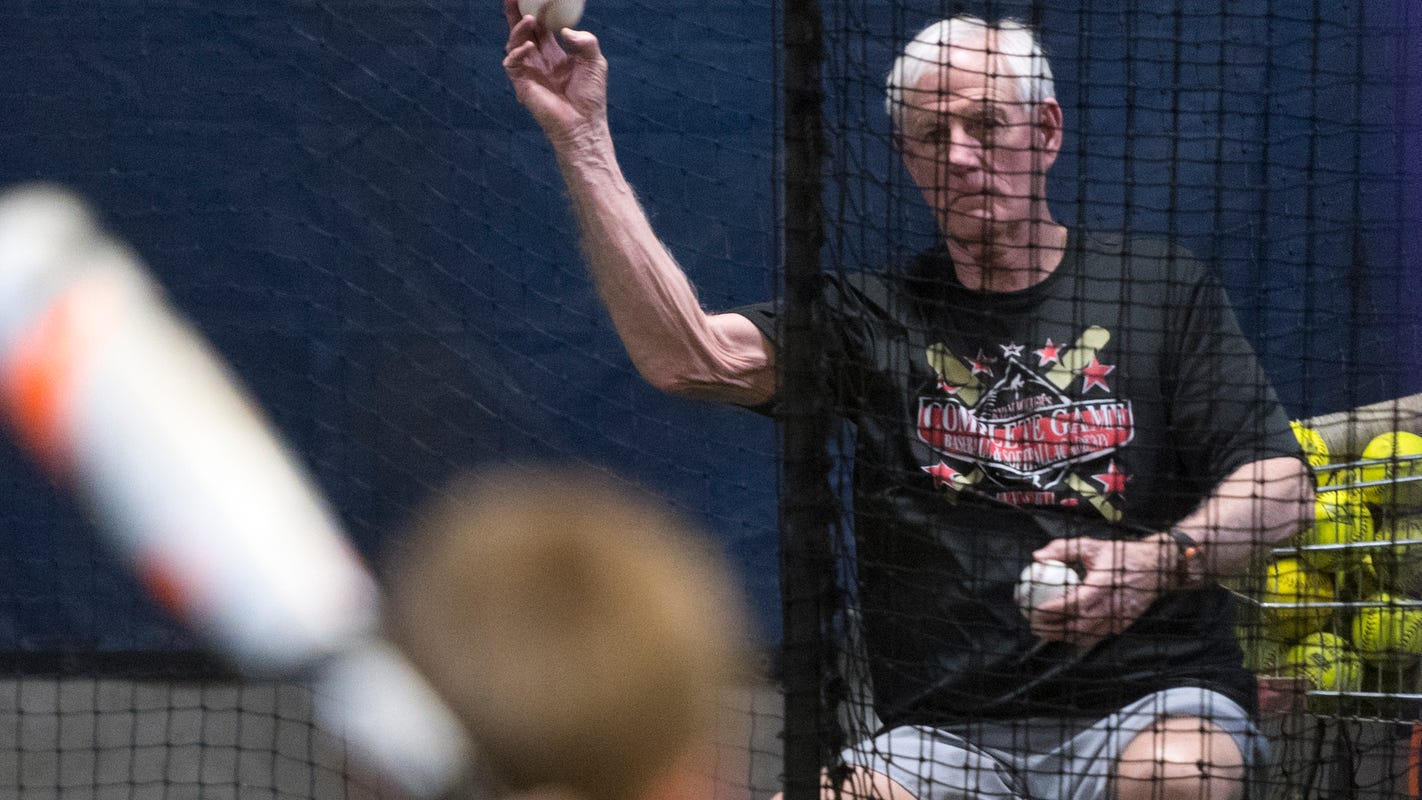 Millions of throws later, Evansville baseball instructor Larry Shown not slowing down