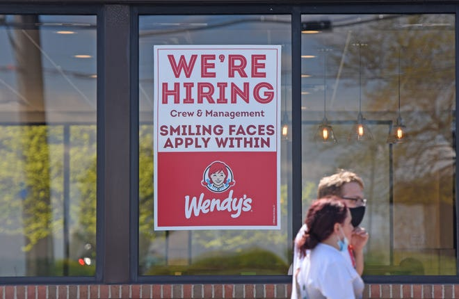 Wendy's in Ontario is looking to hire smiling faces.