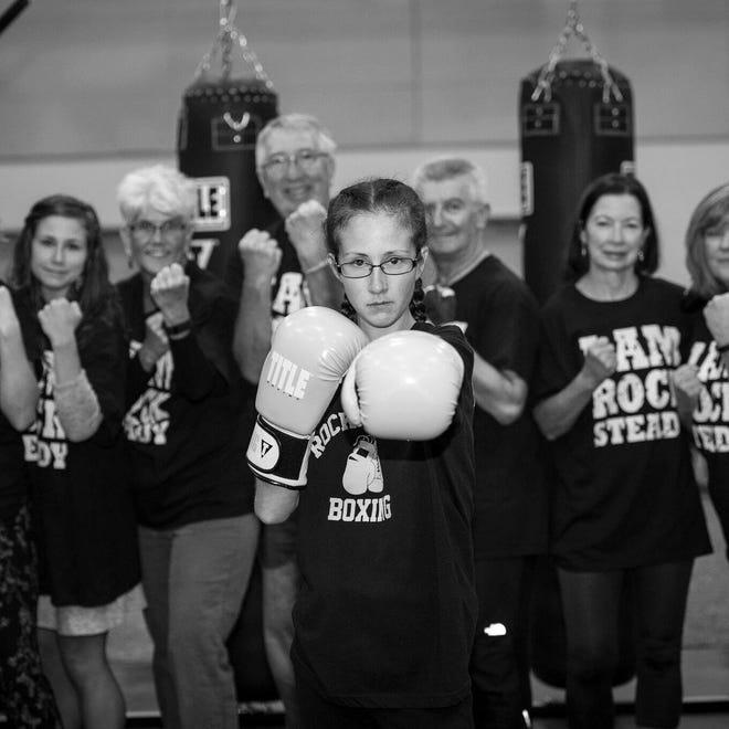 Sussex Hamilton High School graduate Samantha Felder is a certified Rock Steady Boxing coach, a Parkinson's disease-specific fitness program. Felder was diagnosed with Parkinson's disease when she was 21.