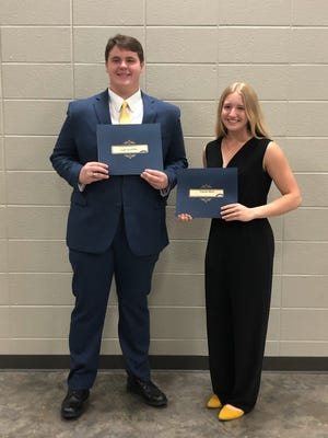 Zachary Spaulding and Victoria Bevel, this year's Mr. and Miss Mountain Home High School.