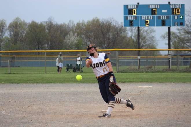 Ava Bradshaw has struck out 161 batters in 92.1 innings of work in her first season with South Lyon.
