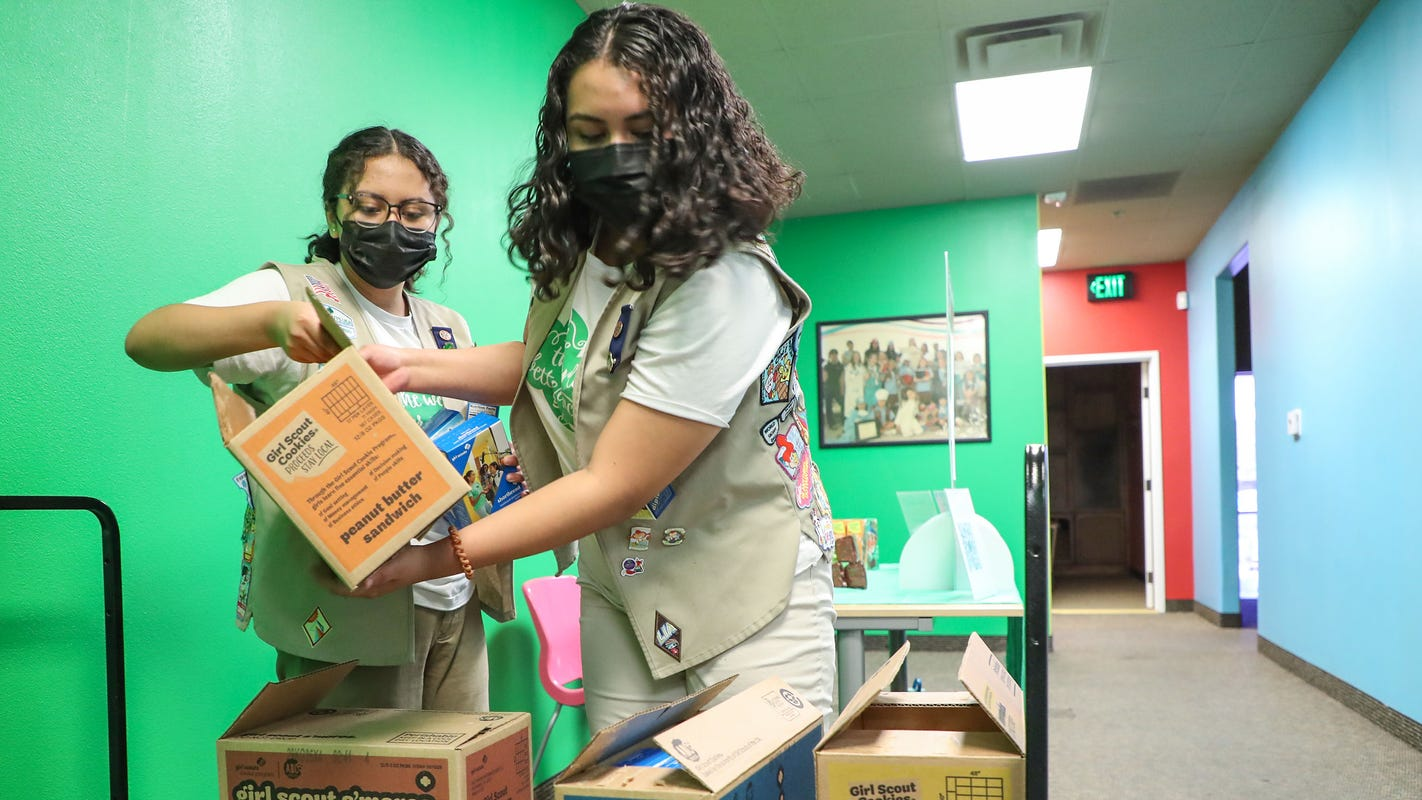 The Girl Scouts rebuild after pandemic, and cookies are back