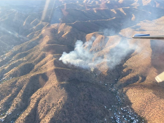 The Zacattack Fire has burned 10 to 30 acres as of Thursday evening.