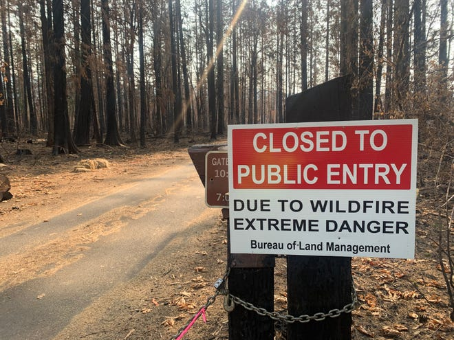 Many places in Oregon's outdoors will be closed this summer due to wildfire damage.