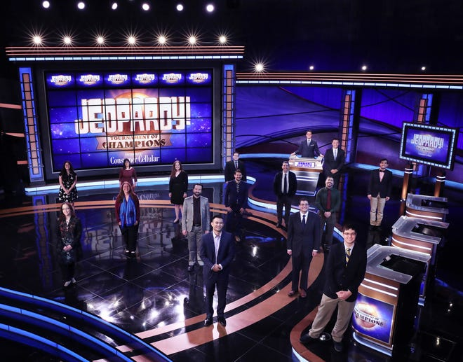 Fifteen contestants who scored big from 2019 until January compete in the 2021 pandemic-delayed 'Jeopardy!' Tournament of Champions, airing May 17-28.