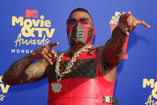 """Nick Cannon arrives for the 2019 """"MTV Movie & TV Awards."""" Yes, there will be a red carpet in 2021."""