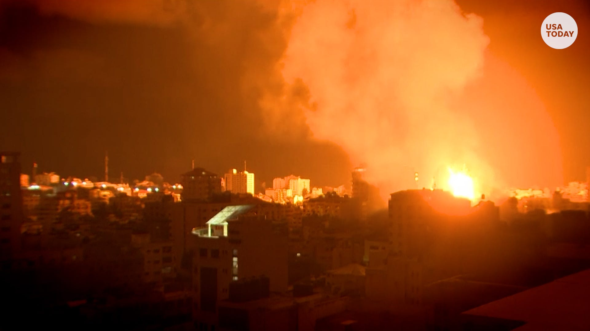 Why is Israel bombing Gaza? Violence in the Gaza Strip escalates to worst in decades