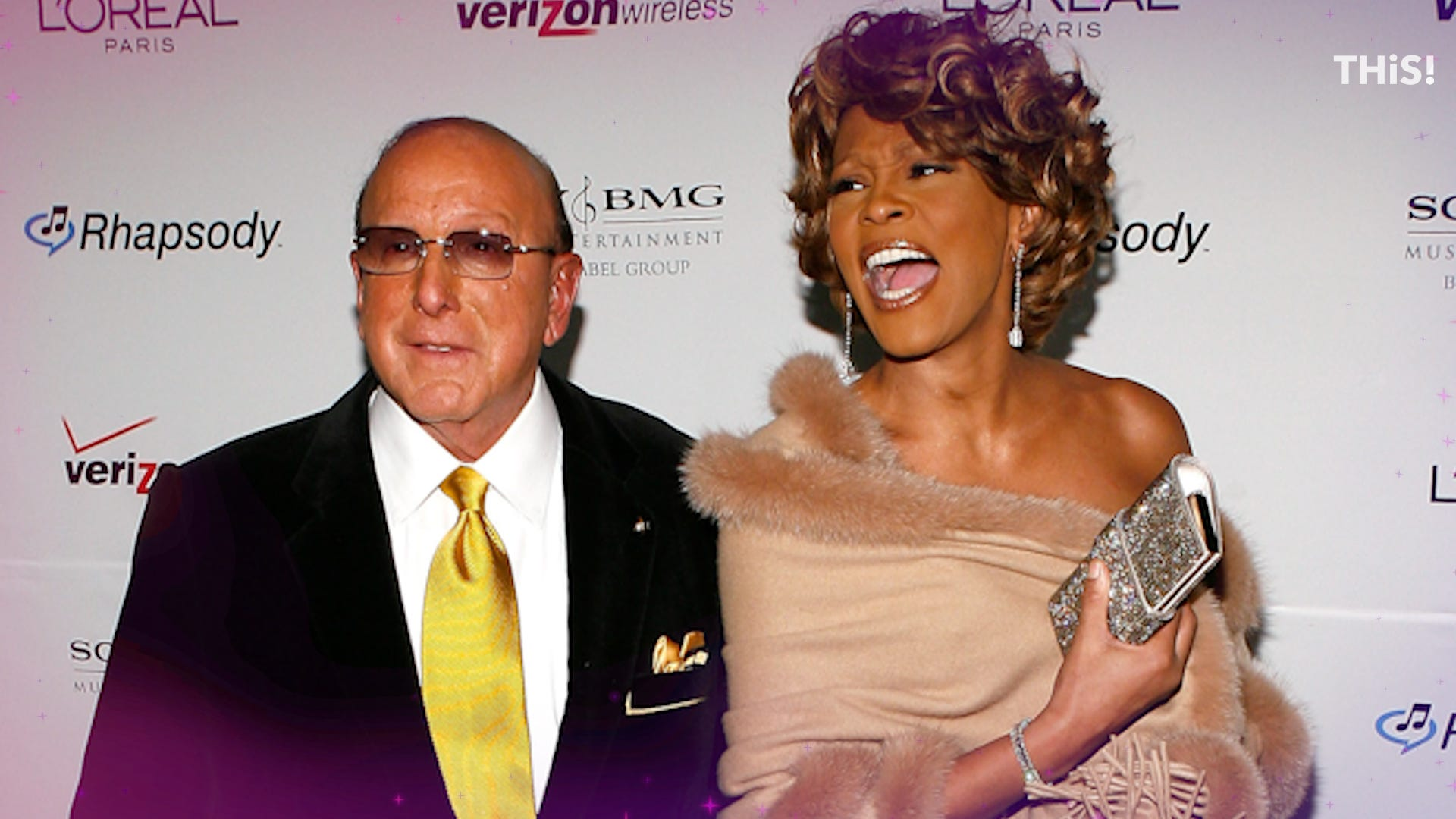 Clive Davis reveals his goal for the Whitney Houston biopic and who H.E.R. reminds him of