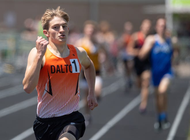 Evan Hodkinson is just one of a contingent of Bulldogs who will compete for state berths this week at Massillon Perry.