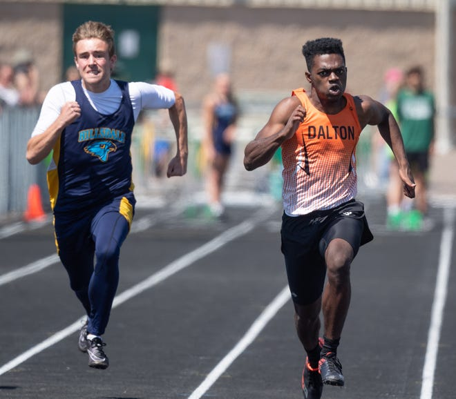 Dalton's Ozzie Miller (right) and Hillsdale's Mason Myers (left) will meet once again in regional competition.