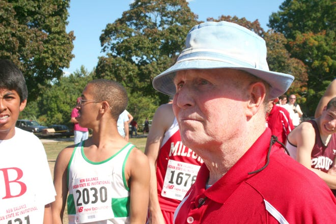 Longtime high school and college track and cross country coach and official Ray Dwyer, who died on April 28 at the age of 98, is remembered.
