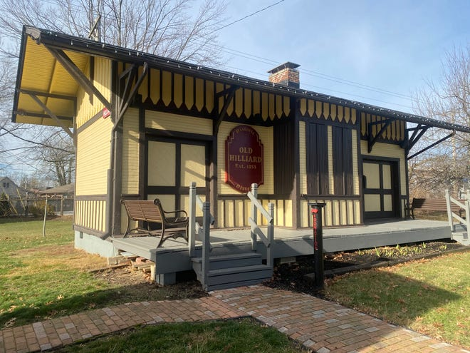 This train station preserved at the Historical Village in Weaver Park played an important part in the life and times of the Hilliard community.
