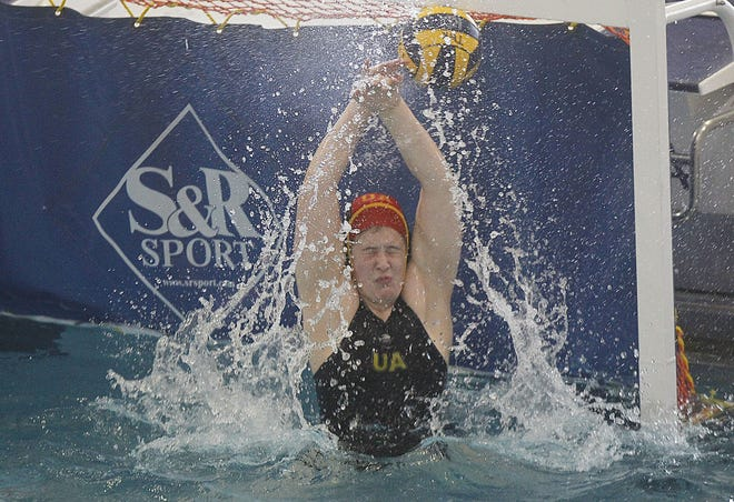 Goalie Carley Hart stopped nine shots as Upper Arlington defeated visiting Napoleon 9-2 in the North Region final May 15. The Golden Bears advanced to the state tournament May 22 at Cincinnati Princeton.