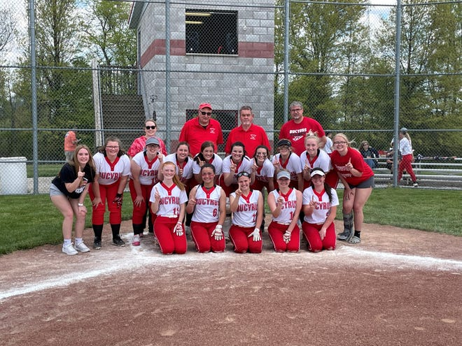 Bucyrus won the Northern 10 championship outright following the win over Buckeye Central.