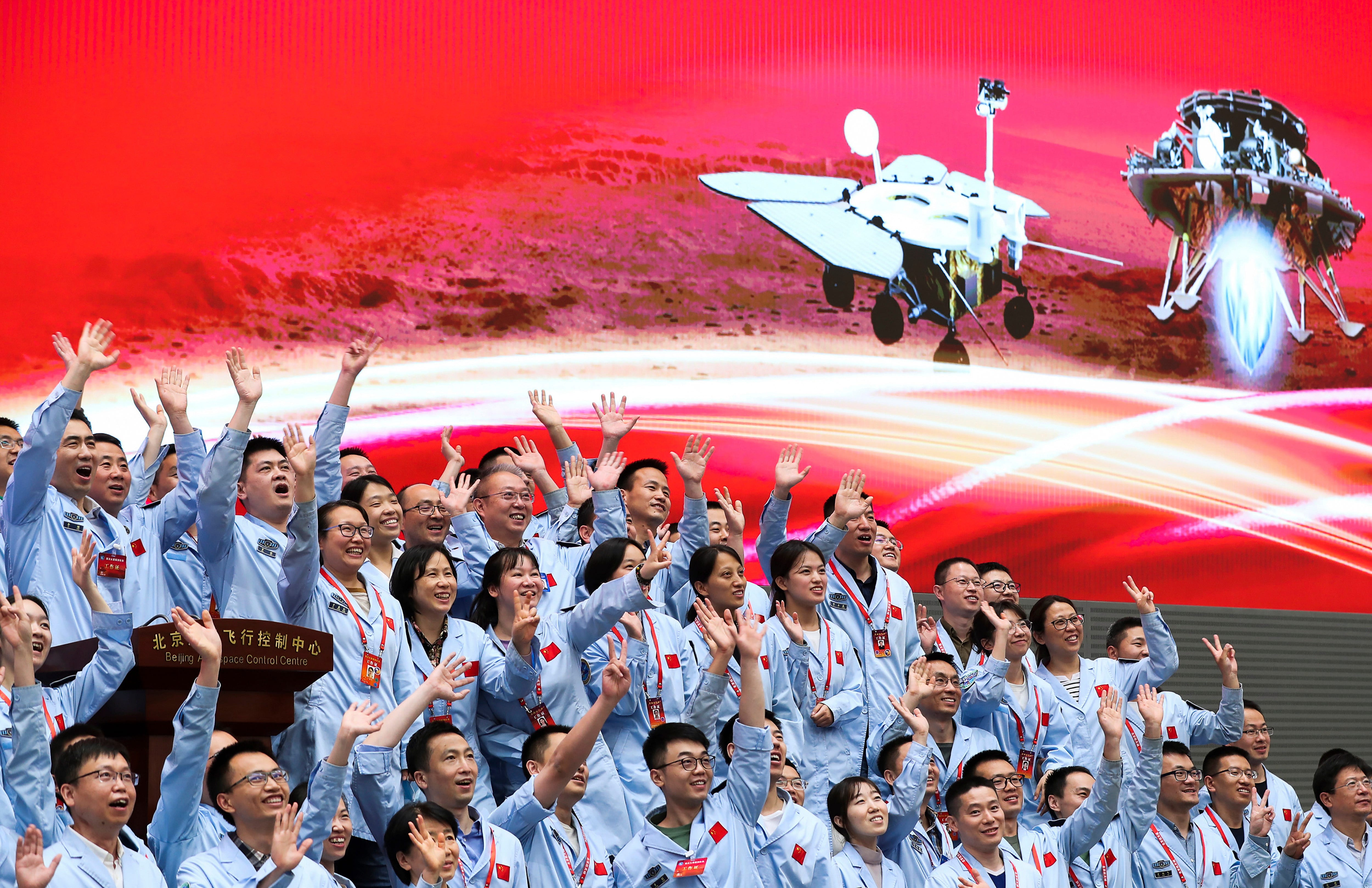 China lands on Mars in latest advance for its space program 2
