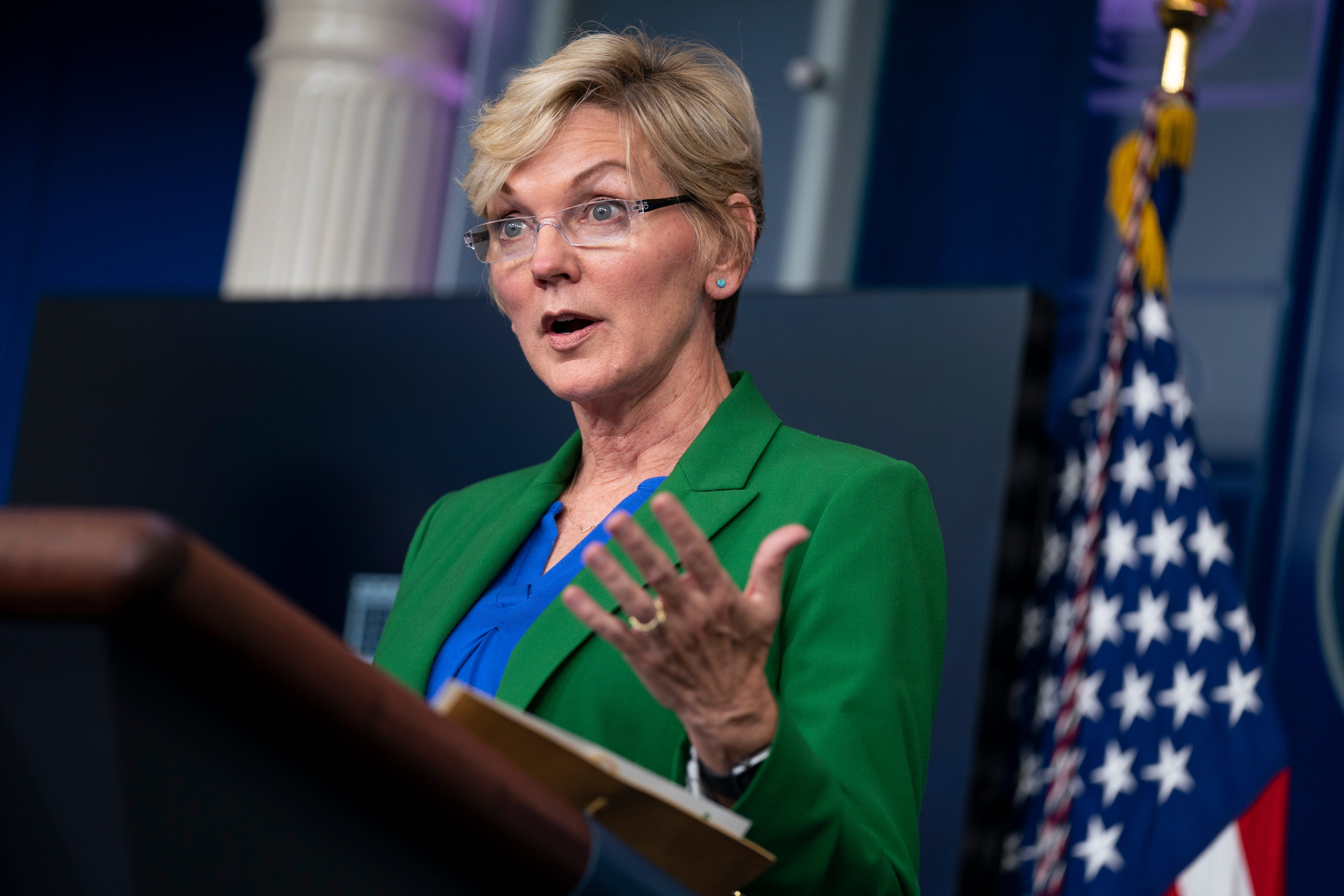 Granholm: Normal service at gas pump likely by late Sunday 2