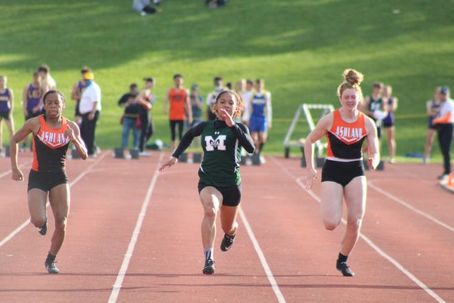 Madison's Nevaeh Lewis was named the OCC Female Runner of the Year earning her a Mansfield News Journal Female Athlete of the Week nomination.