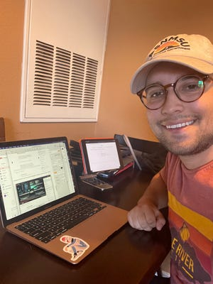 Communication studies graduate student Jett Barela was among a group of New Mexico State University students who conducted virtual international internships in spring 2021. NMSU's Education Abroad facilitated the internships, which are a graduation requirement.