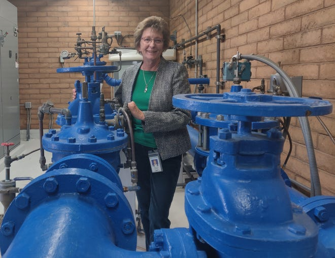 Adrienne L. Widmer, P.E., has been selected as the new Las Cruces Utilities assistant director.