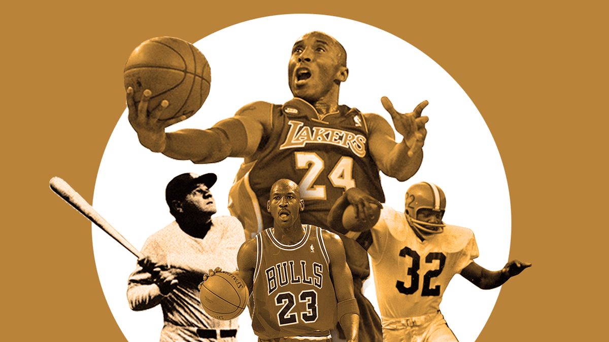 From Babe Ruth to Jim Brown to Ken Dryden to Michael Jordan to Kobe Bryant: The best HOF classes