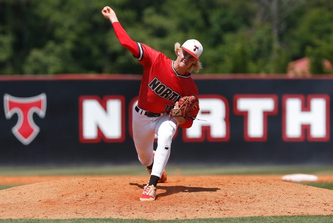 North Oconee's Bubba Chandler got even more attention from baseball scouts in his senior season after taking his fastball to 98 mph.