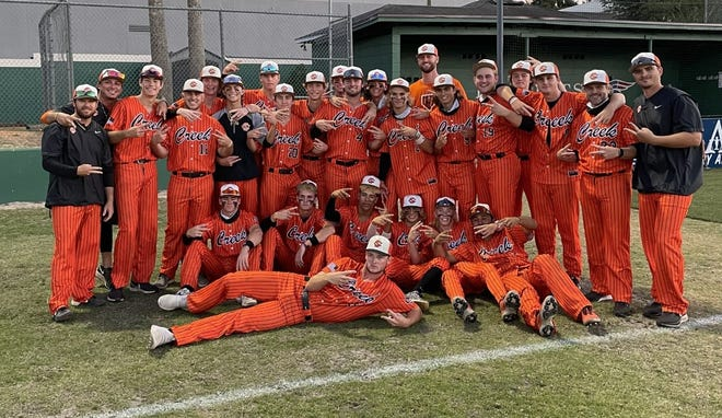 Spruce Creek defeated Lake Brantley 5-1 in Saturday's Region 1-7A baseball final. The Hawks are two wins away from a second state title in program history.