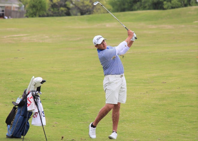Frenship's Logan Vargas will compete at the Class 6A UIL boys golf state tournament Monday, May 17, 2021, in Georgetown.