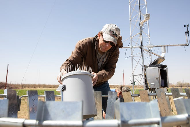 Each West Texas Mesonet station measures 29 different weather parameters.