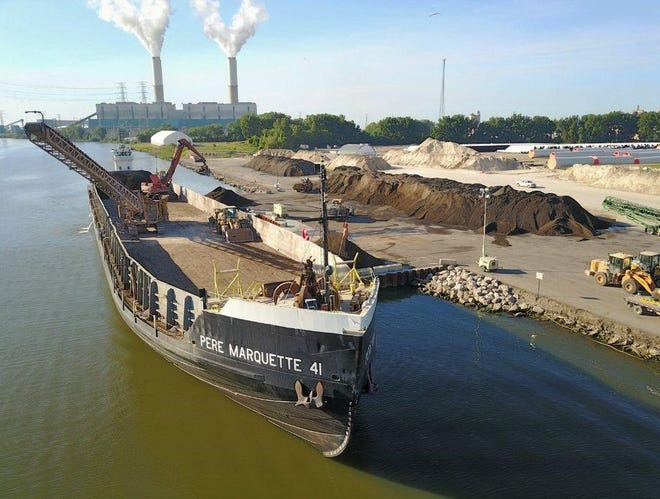Nearly $66 million in commodities revenue is generated by the Port of Monroe.  Petroleum products, coal, stone and aggregates pass through the port each year.
