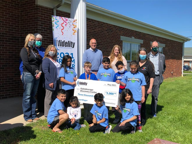 KaleidoscopeDiscovery Center won Fidelity Communications Dream Big grant after receiving over 900 votes from the public.