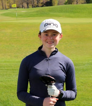 Notre Dame Academy seventh grader Georgia Beland already is turning heads on golf course.