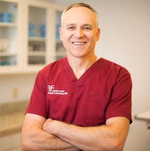Dr. Frank Fechner's office is an accredited surgical center, located on Shrewsbury Street in Worcester.