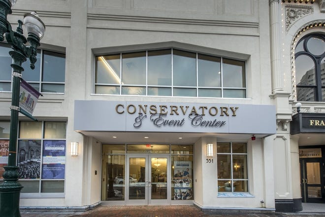The Hanover Theatre and Conservatory for the Performing Arts.