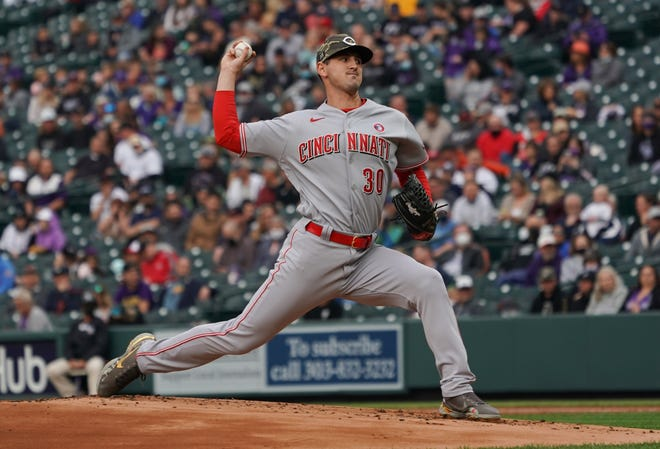 Tyler Mahle has been arguably the Reds' most consistent start, taking a 2-1 record and a 2.93 ERA into Thursday's start against the Giants.