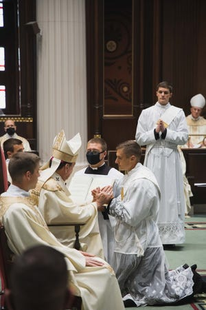 Seven new priests were ordained for the Archdiocese of Cincinnati on Saturday, May 15, 2021.