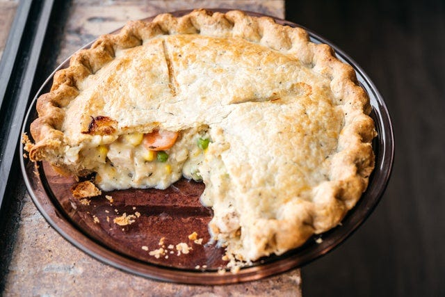 Chicken Pot Pie from Great Lakes Pot Pies