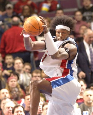 Former Pistons center Ben Wallace is part of the 2021 Naismith Basketball Hall of Fame class.