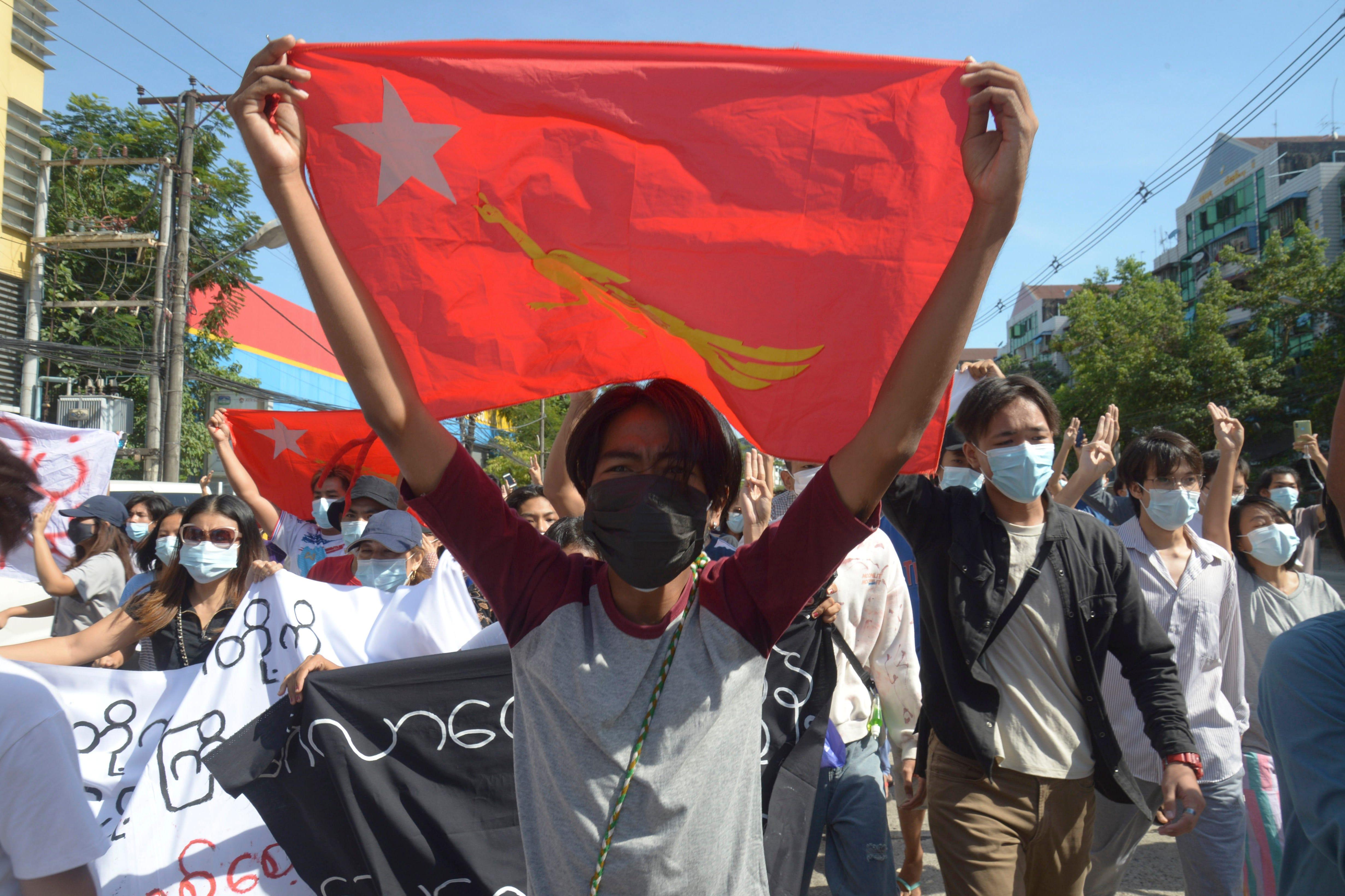 Myanmar junta attacks western town that resisted coup 1