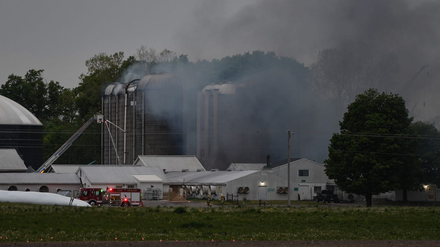 Fire at MSU's Dairy Cattle and Teaching Research Center put out quickly, no injuries reported