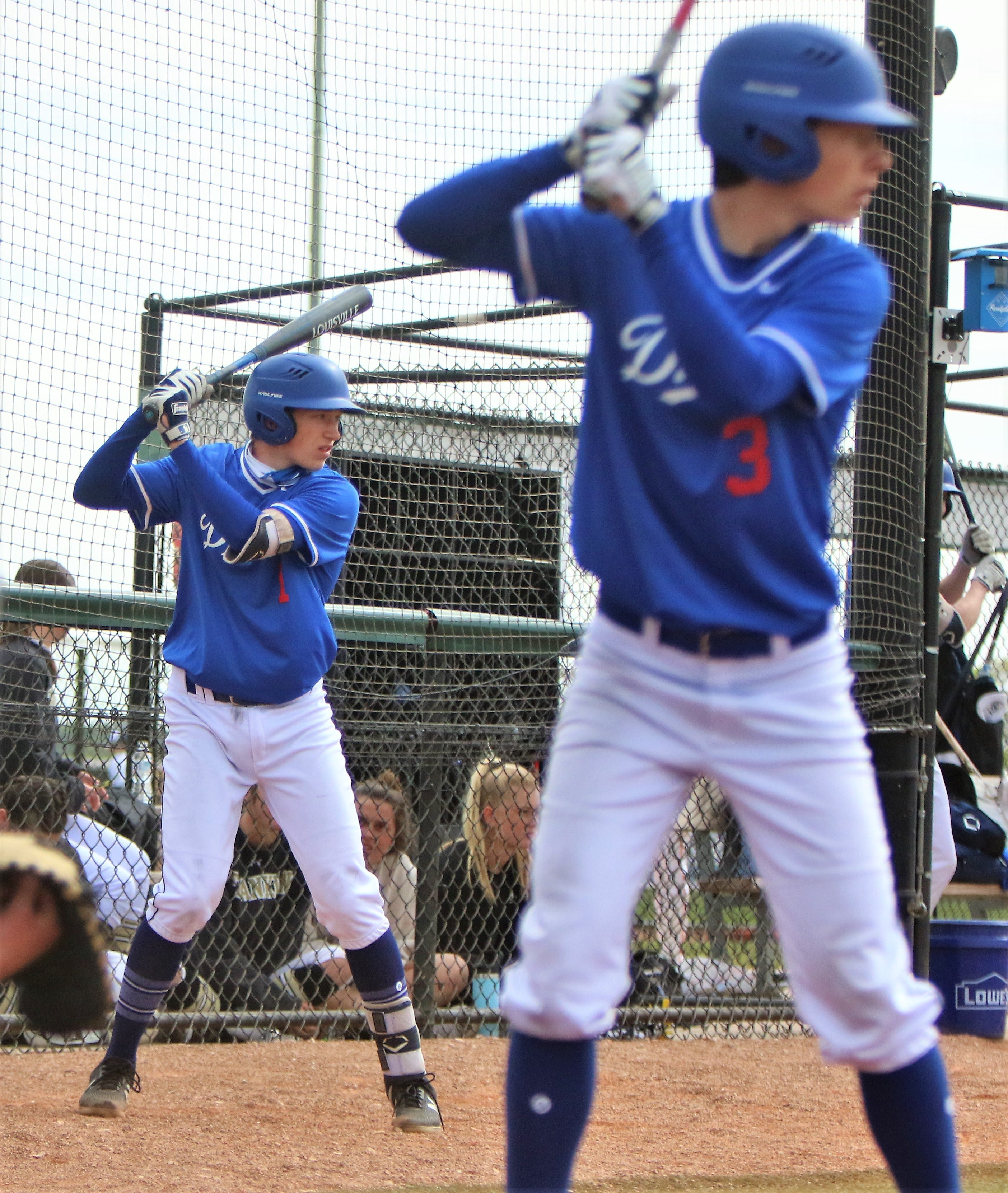Just as their dad did, Brady and Jack Counsell are starring on same high school diamond