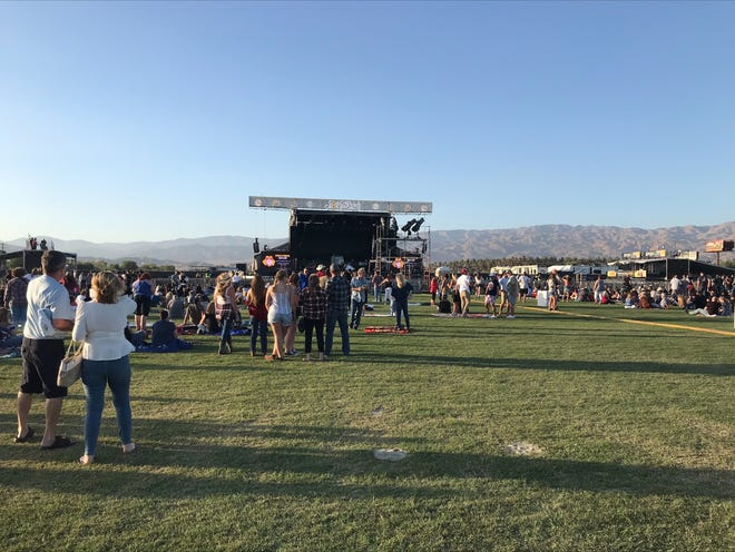 The new outdoor venue Coachella Crossroads hosted its inaugural concert with country star Toby Keith and opening act Jimmie Allen, May 15, 2021.