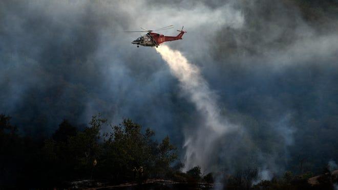 Blaze spans 1,325 acres, 1,000 residents evacuated
