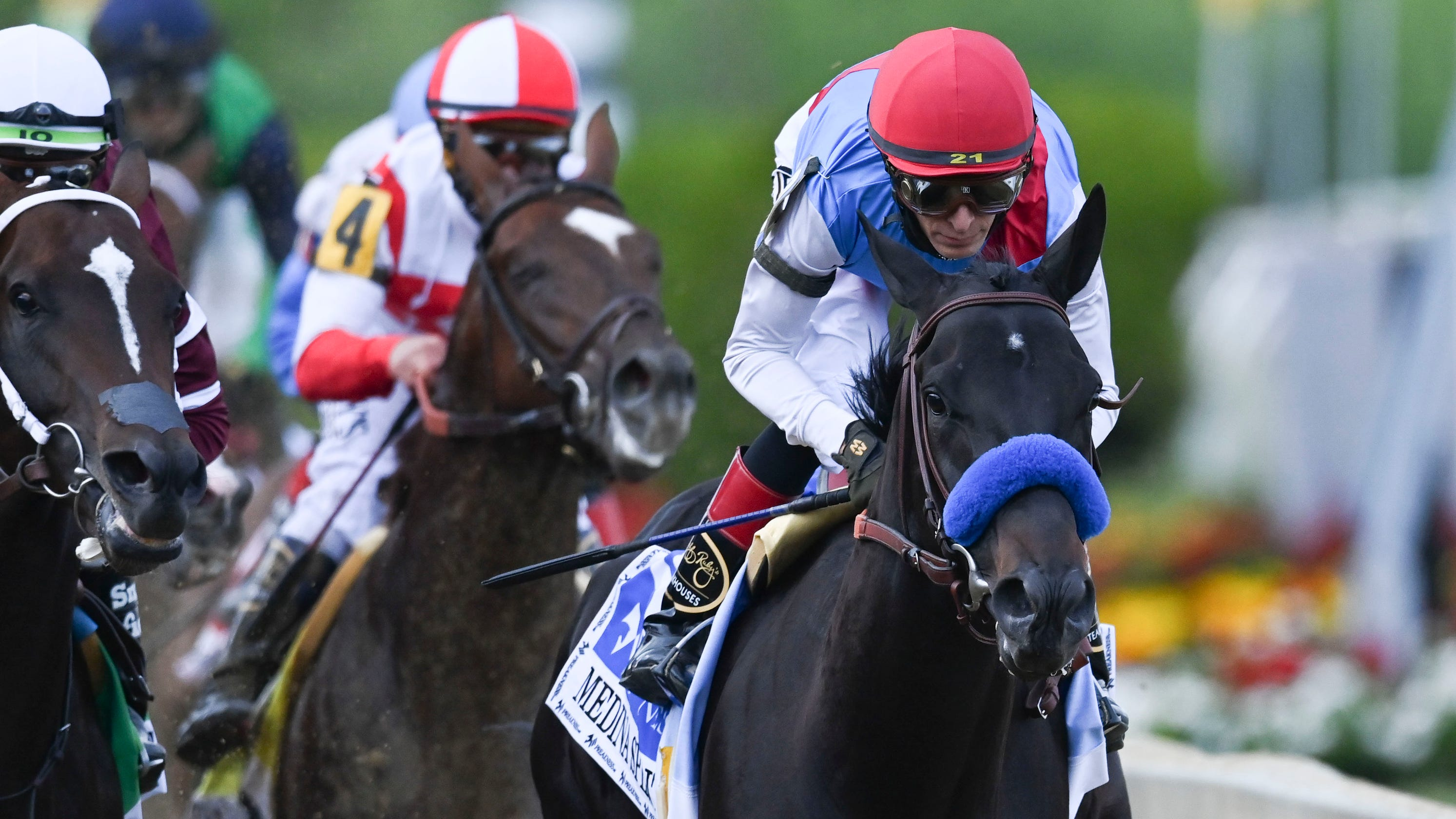 Opinion: Horse racing can breathe a sigh of relief as Medina Spirit's Triple Crown bid ends