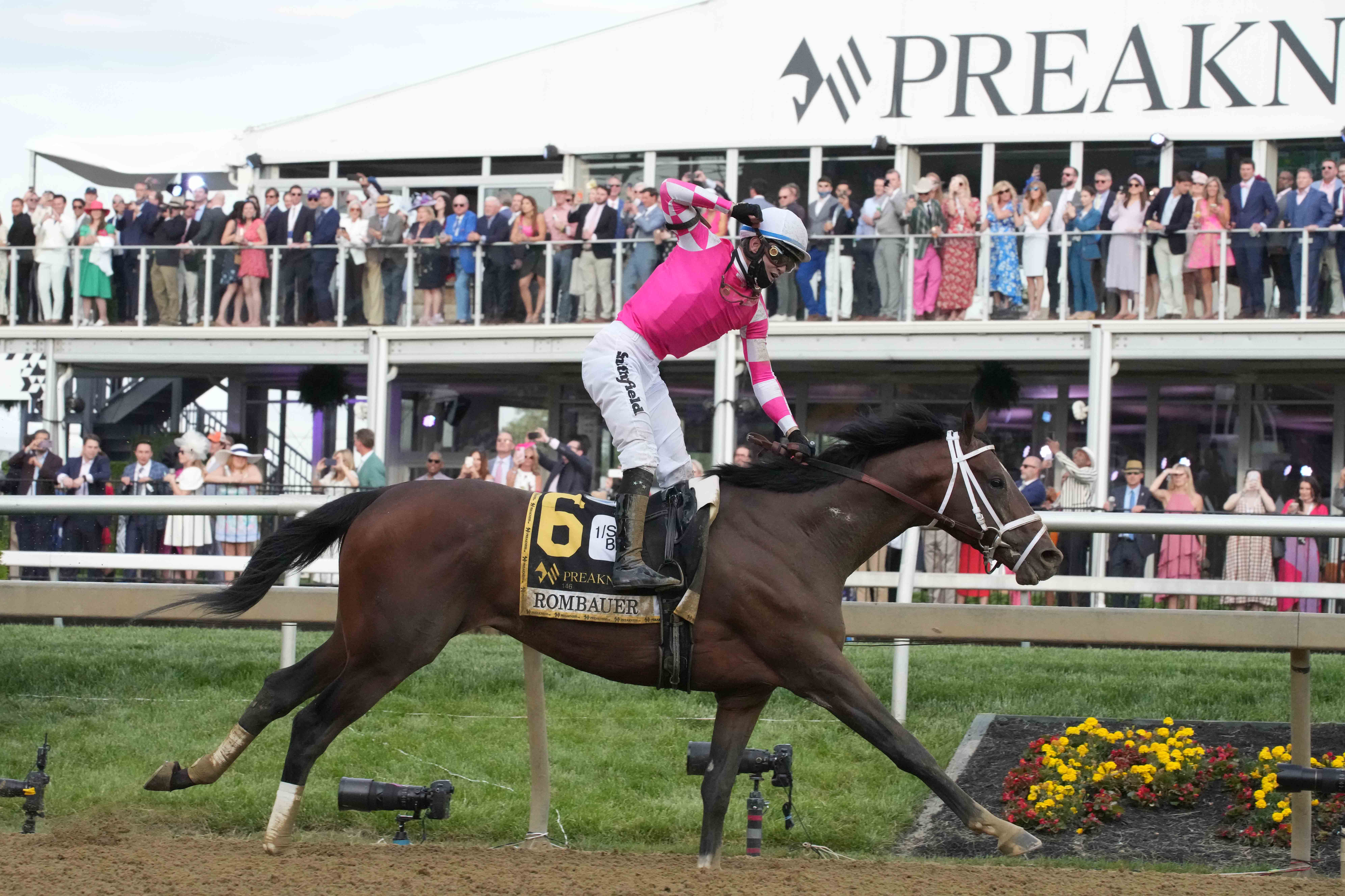 Preakness Stakes payouts following Rombauer s win at Pimlico